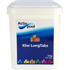 klortabletter pool long tabs